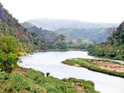 Vi sejlede på U floden i det nordlige Laos