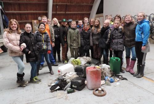 5 klasse bag alt affaldet