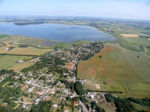 Dybsø fjord blev foreslået tørlagt. Her med Kostræde Banker i forgrunden